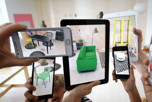 Технологии AR в бизнесе